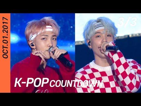 [FULL] SBS K-POP Countdown (3/3)   EP929 (20171001)   BTS, BLACKPINK, Red Velvet, WINNER