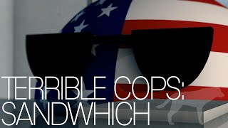 Terrible Cops: Sandwich -Animated Countryballs