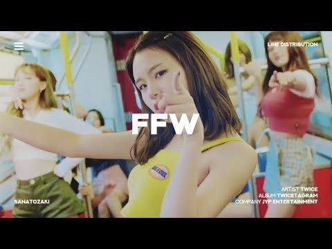 TWICE (트와이스) - FFW | Line Distribution
