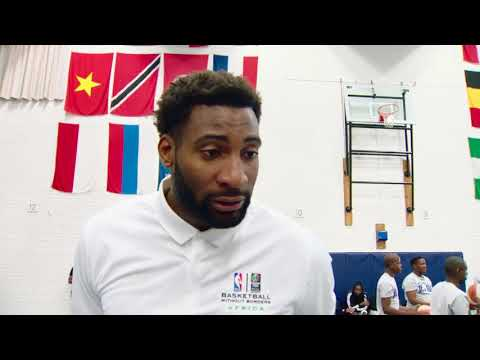 ANDRE DRUMMOND FOR BASKETBALL WITHOUT BORDERS IN SOUTH AFRICA
