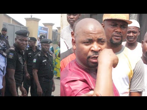 Police Denied Mc Oluomo Access To The Venue Early Scheduled For His Event In Lagos