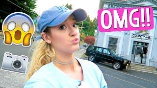 ON A MOVIE SET!?! OMG!! by Alisha Marie Vlogs