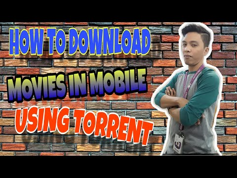 How to download movies and many more in mobile phones using torrent