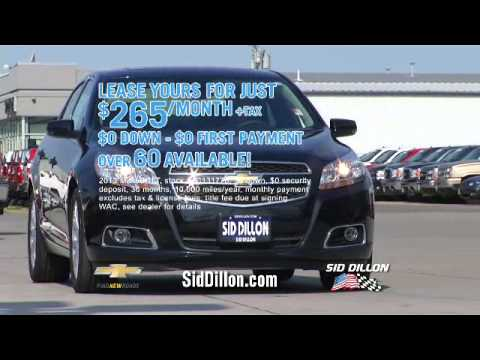 Drive Away in a Malibu for $0 Down from Sid Dillon Chevrolet