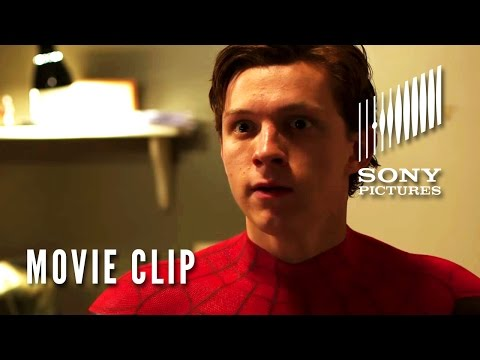 Spider-Man: Homecoming - Movie Clip - You're the Spider-Man??>