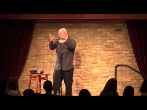 Comedian Bill Blank - Deaf people and trains