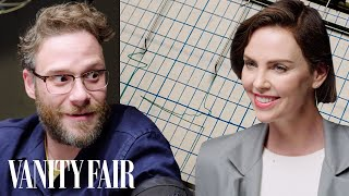 Video Seth Rogen and Charlize Theron Take a Lie Detector Test | Vanity Fair MP3, 3GP, MP4, WEBM, AVI, FLV Juni 2019