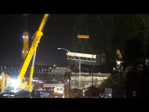 Amtrak train derailment investigation