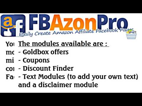 WSO FB Azon Pro Review – Easily Create Amazon Affiliate Facebook Pages!