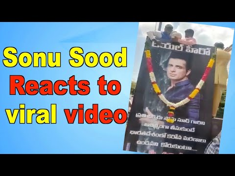 Fans in Andhra Pradesh pour milk on Sonu Soods poster actor reacts