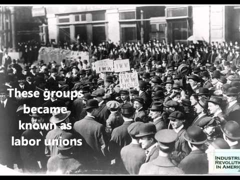 labor unions - Introduction to lesson on Labor Unions.