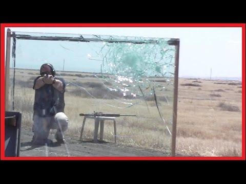 挑戰防彈玻璃的極限!!!