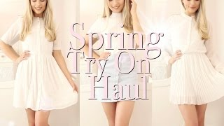 Hope you enjoy my Spring try on haul with lovely clothes, shoes and accessories from Asos, Miss Selfridge, River Island and Aldo!