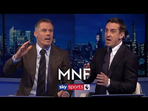 Jamie Carragher And Gary Neville Debate Jordan Henderson's Best Position | MNF