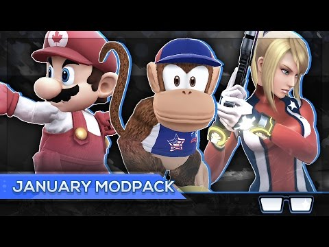 NRG Nairo's January Modpack (Super Smash Bros Wii U)