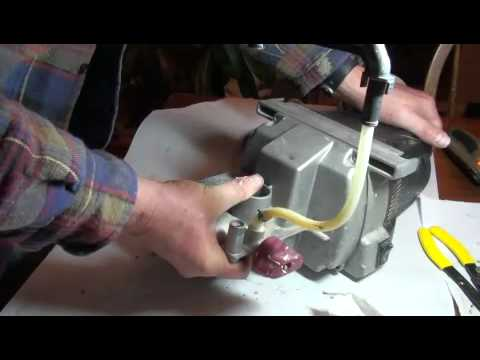 fix paint sprayer - Trouble shooting and repair of Wagner Paint Crew Airless paint sprayer.