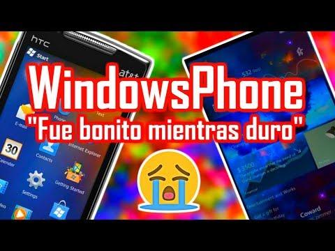 FUE BONITO MIENTRAS DURO: LA TRISTE HISTORIA DEL FRACASO DE WINDOWS PHONE