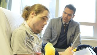 Cameron Underwood's Face Transplant Journey