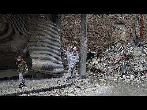 Συρία: Το euronews στην Λατάκια μετά τον βομβαρδισμό από τους αντάρτες