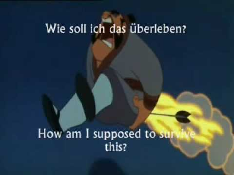 Mulan - I'll Make a Man Out of You - German - Subs & Translation