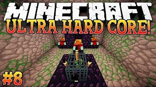 BASE RAID?! - Ultra Hardcore (Minecraft Ultra Hardcore Mod) - #8