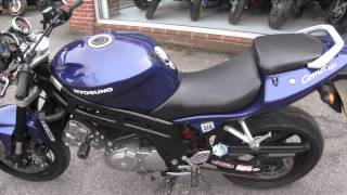 8. 2008 Hyosung Comet 650N - Padgetts Motorcycles
