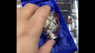 Серебряная стопка «Лазер»