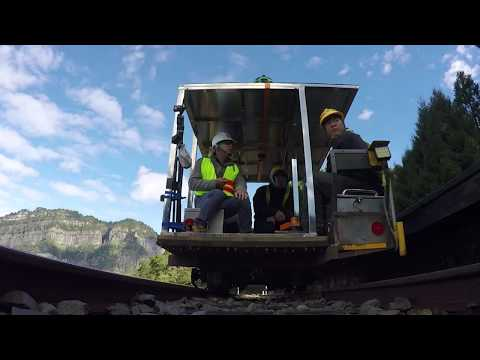 Google街景在台首例 用鐵路台車拍阿里山[影]