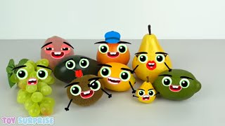 fruits with faces | Things doodle | cutefood foodfaces | Toysurprise ENG