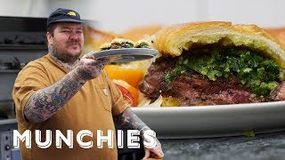 How-To Make a Steak Sandwich with Matty Matheson by Munchies
