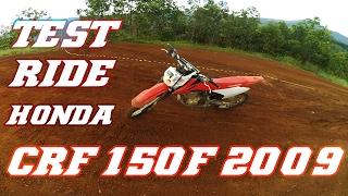 3. Test Ride Honda CRF 150F 2009 | Kecil-kecil Anjayyy | Sirkuit Bako
