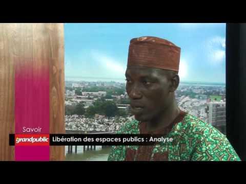 La libération des espaces publics dans plusieurs villes du Bénin