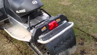 4. 2010 Polaris IQ Shift 550 Snowmobile