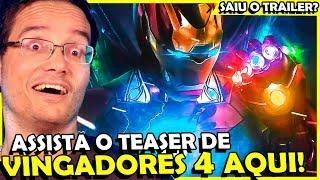 VAZOU SUPOSTO TEASER DE VINGADORES 4 - ASSISTA AQUI!!!