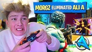 Download Video Kid thinks he's better at Fortnite than Ali-A... MP3 3GP MP4