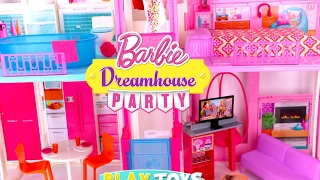 Glam Barbie doll house tour!