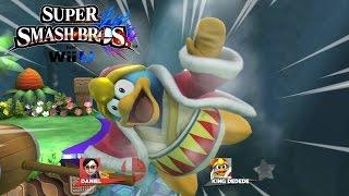 King DeDeDe Tennis!! – Super Smash Bros for Wii U Minigames