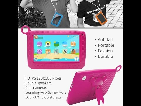 NPOLE Kids Tablet Android 7 Inch 1280x800