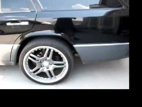 91 Mercedes W124 300TE 4MATIC with 19 inch rims