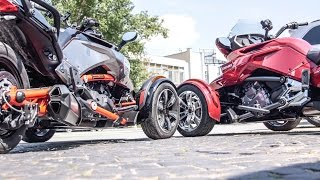 9. BRP Can Am Spyder F3T vs F3 review