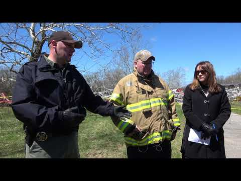 Tv radio station tower collapse in fordland mo killing 1 4-19-2018
