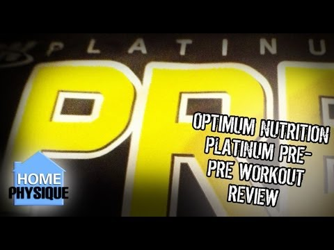 Optimum Nutrition Platinum Pre- | Pre Workout Supplement Review