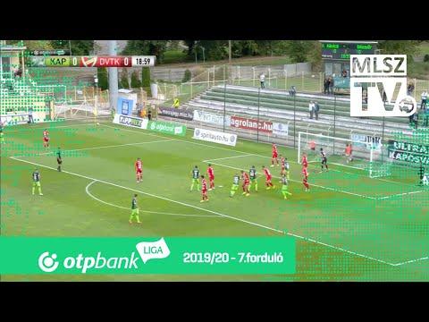 7. forduló: Kaposvár - DVTK 2-0 (1-0)