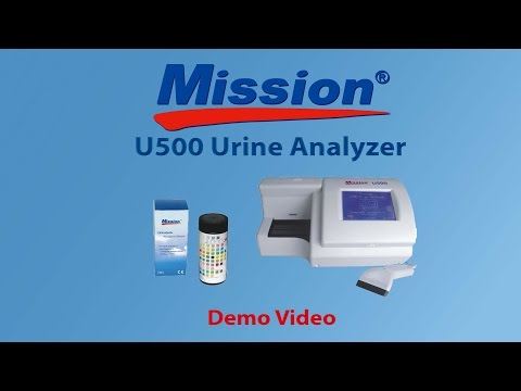 Mission U500 Urine Analyzer Demo