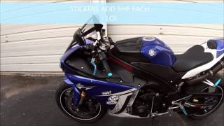 6. 2011 YAMAHA YZF R1 CROSSPLANE WALKAROUND AND STARTUP REVIEW OF R1