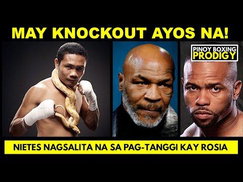 UPDATE: Tyson vs Jones AYOS na ulit ang RULES! | Nietes NAGSALITA na, RASON kaya inayawan si Rosia