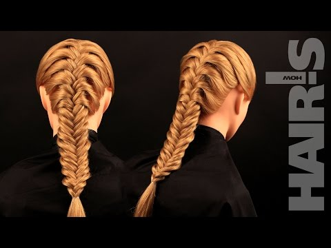 How to do a French fishtail braid hairstyle