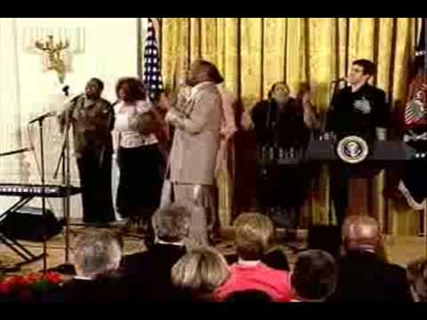 """¥T """" The Days Of Elijah(Behold He Comes)"""" -  Donnie McClurkin   At The White House  ¥T"""