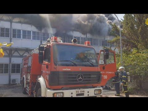 Video - Πανεπιστήμιο Κρήτης: Ολονύχτια παραμονή της πυροσβεστικής στο σημείο