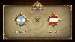 AUT vs ARG, game 1